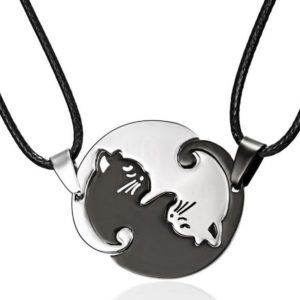 Cat Puzzle Necklace