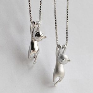 Playful Cat Necklace