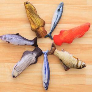 Hyper-Realistic Stuffed Fish Toy