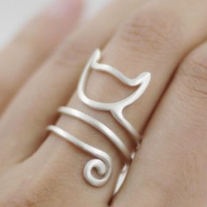 Wrap-Style Cat Ring
